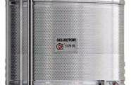 Vertical red winemaking tanks SELECTOR