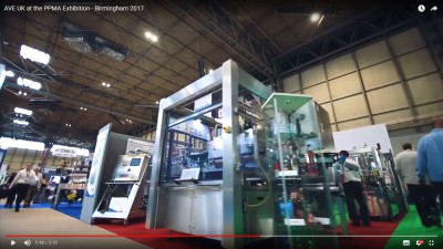 Un video direttamente da Birmigham – AVE UK al PPMA Show!
